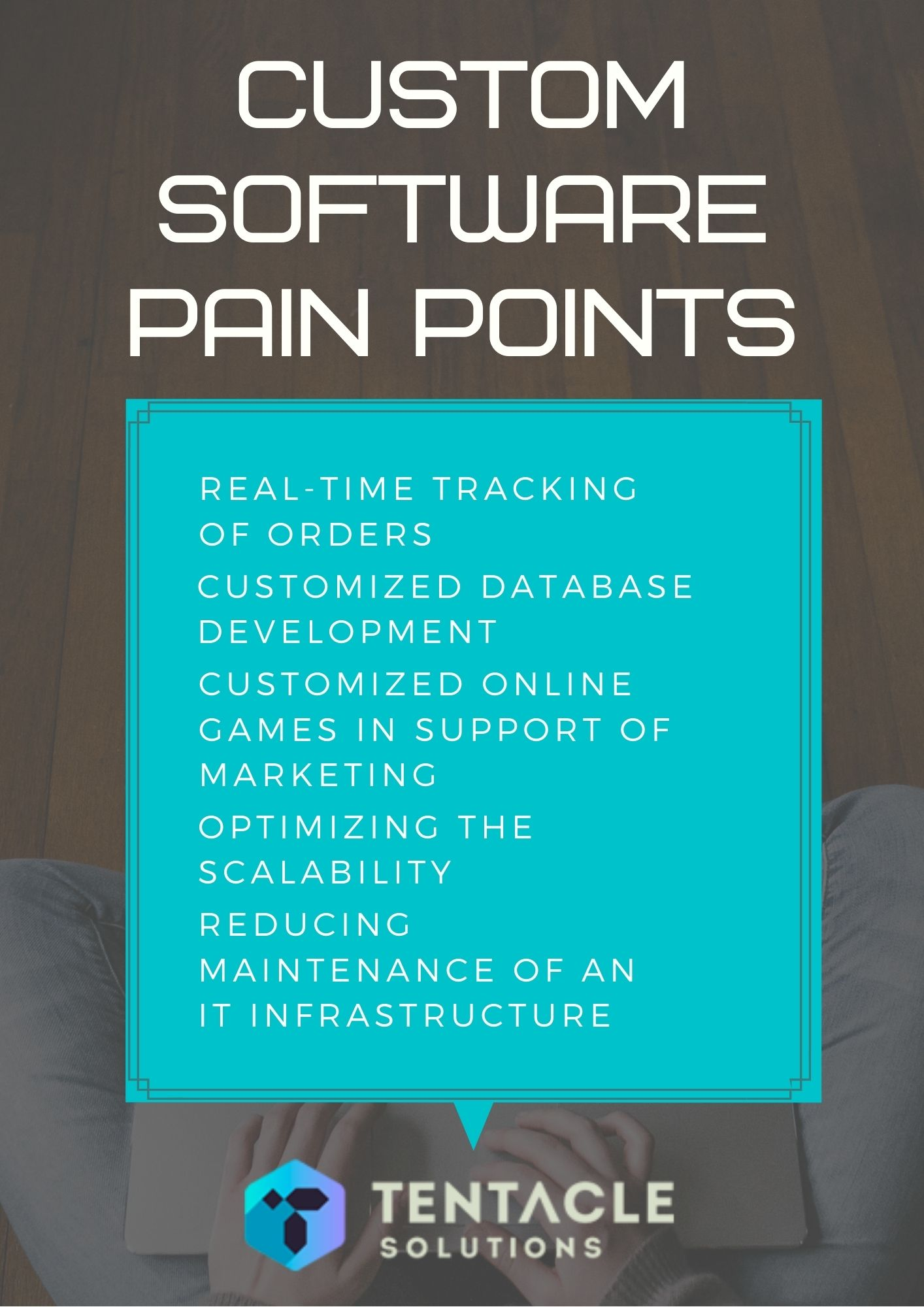 Custom software pain points